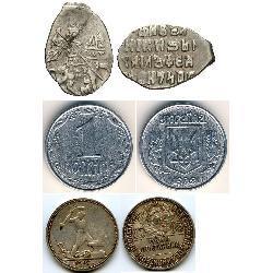 Копейки - старые и новые (57) coins - spa1
