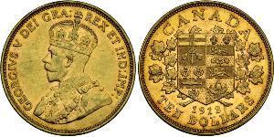 10 Dollaro Canada Oro Giorgio V (1865-1936)