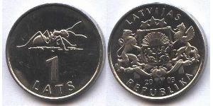 1 Lats Lettonia (1991 - ) Rame/Nichel