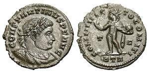 AE3 Imperio romano (27BC-395) Bronce Constantino I (272 - 337)