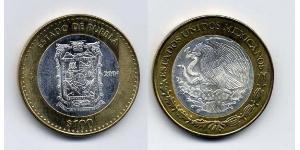 100 Peso México (1867 - ) Bimetal