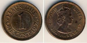 1 Cent Maurice Bronze