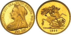 5 Pound United Kingdom of Great Britain and Ireland (1801-1922) Gold Victoria (1819 - 1901)