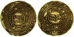 1 Denaro Regno di Gerusalemme (1099-1291) Oro Baldwin I (1058 -1118)