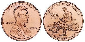 1 Cent USA (1776 - ) Copper/Zinc