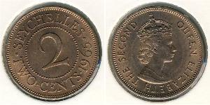 2 Cent Seychelles Bronze