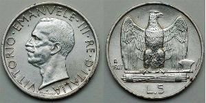5 Lira Kingdom of Italy (1861-1946)