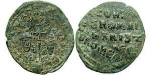 1 Follis Empire byzantin (330-1453) Bronze Constantin VII (905 -959)