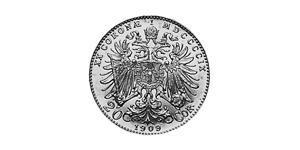 20 Corona Imperio austrohúngaro (1867-1918) Oro