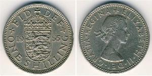 1 Shilling Regno Unito (1707 - ) Rame-Nichel