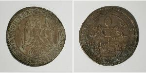 1 Thaler Augsburgo (1276 - 1803) Plata Fernando II de Habsburgo(1578 -1637)