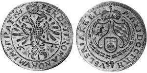 1/4 Thaler Électorat de Bavière (1623 - 1806) Argent