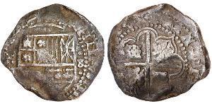 8 Real Spanish Colonies / Spain Silver Charles IV of Spain (1748-1819)