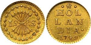 1 Stuiver Dutch Republic (1581 - 1795) Gold
