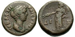 1 Tetradrachm Empire romain (27BC-395) Bronze Faustina II (130-175)