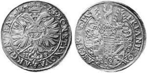 1/2 Thaler Principality of Anhalt (1212 - 1806) Silver
