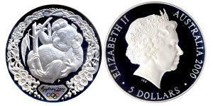 5 Dólar Australia (1939 - )