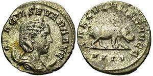 1 Antoniniano Impero romano (27BC-395) Argento Otacilia Severa (244-249)