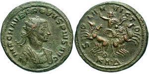 1 Antoninianus Roman Empire (27BC-395) Silver-Copper Probus (232-282)
