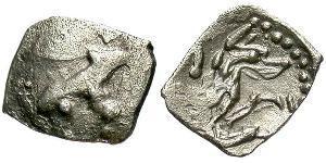 1 Hemiobol Ancient Greece (1100BC-330) Silver