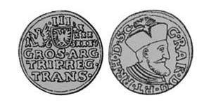 3 Groschen Principato di Transilvania (1571-1711) Argento
