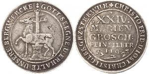 24 Mariengroschen Saint-Empire romain germanique (962-1806) / States of Germany Argent