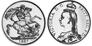 2 Pound  Gold Victoria (1819 - 1901)