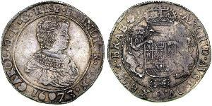 1 Ducaton Dutch Republic (1581 - 1795) Silver Charles II of Spain (1661-1700)