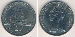 25 Penny  Rame/Nichel
