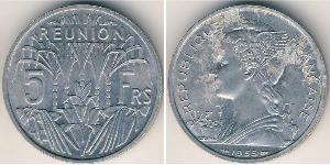 5 Franc Reunion