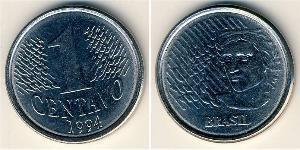 1 Centavo Brasile Acciaio