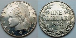 1 Dollar Liberia