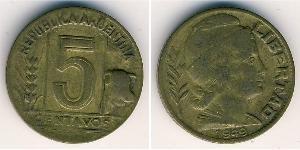 5 Centavo Argentina (1861 - ) Bronzo