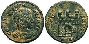 AE3 Empire romain (27BC-395) Bronze Constantin I (272 - 337)