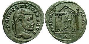 1 Follis Empire romain d