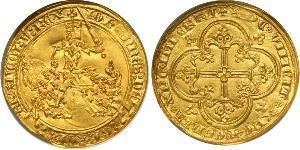 Монета 1 Франк Франкское королевство