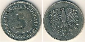 5 Mark Deutsche Demokratische Republik (1949-1990) Kupfer/Nickel