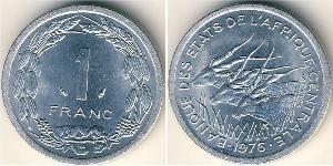 1 Franc Central African Republic