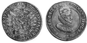 1/2 Thaler Saint-Empire romain germanique (962-1806) Argent