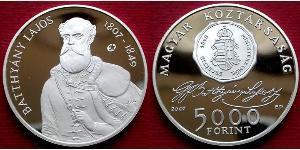 5000 Forint Hungría (1989 - )