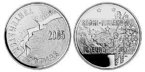 10 Euro Finlande (1917 - ) Argent