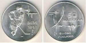 50 Mark Finland (1917 - ) Silver