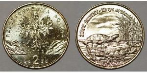 2 Zloty Third Polish Republic (1991 - )