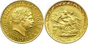 1 Sovereign United Kingdom / United Kingdom of Great Britain and Ireland (1801-1922) Gold George III (1738-1820)