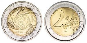 2 Euro Italia Bimetal