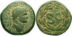 AE_ Römische Kaiserzeit (27BC-395) Bronze Domitian  (51-96)