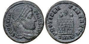 AE3 Roman Empire (27BC-395) Bronze Constantine I (272 - 337)