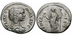 1 Denario Impero romano (27BC-395) Argento Giulia Domna (?-217)