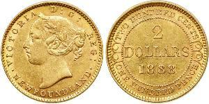 2 Dollar United Kingdom of Great Britain and Ireland (1801-1922) Gold Victoria (1819 - 1901)