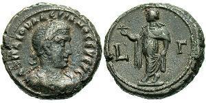 1 Tetradramma Impero romano (27BC-395) Bronzo Valeriano I (193-260)